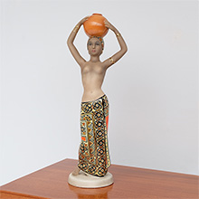 C.I.A. MANNA CERAMIC WOMAN FIGURINE