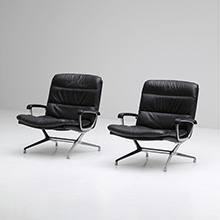 Paul Tuttle side chairs circa 1965