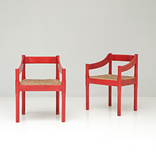 Carimate Chairs by Vico Magistretti