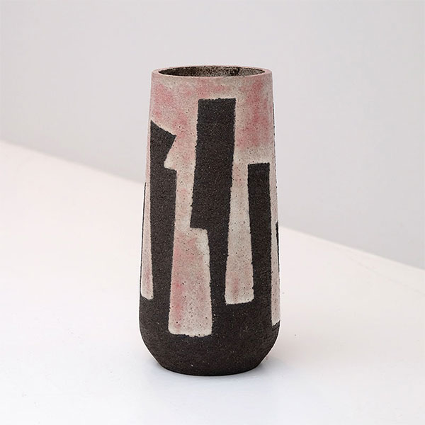 Modernist Stoneware Vase from the Zaalberg Atelier