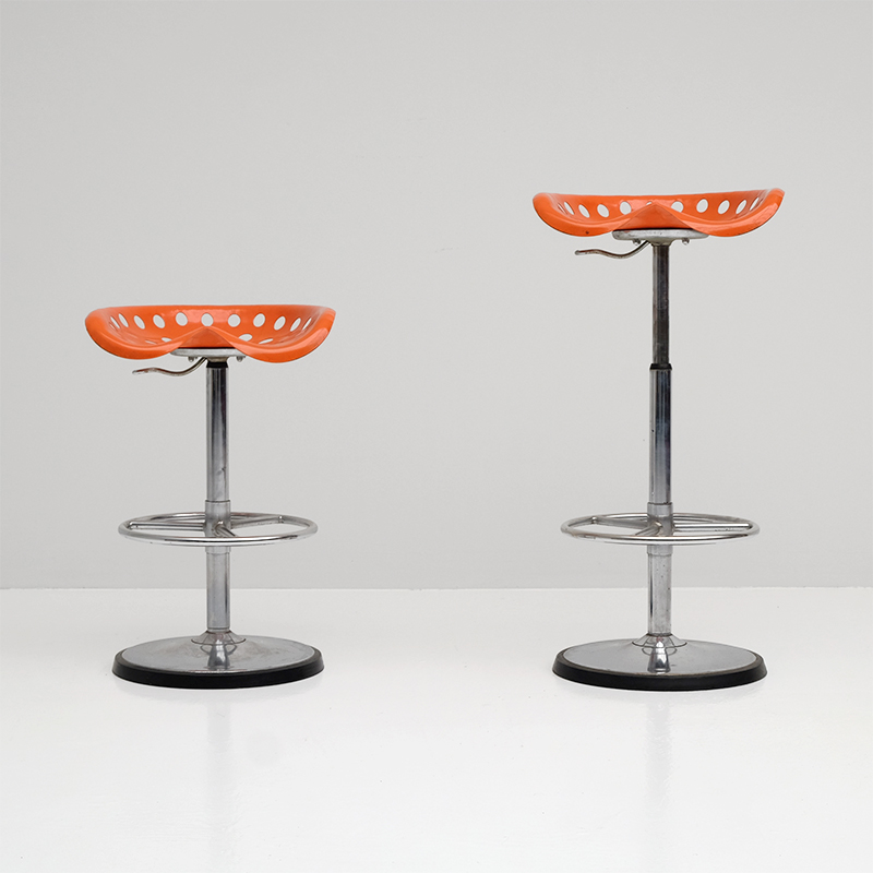 Fermigier bar stool Faucheuse by Mirima