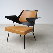 Robin Day British design side chair model 658
