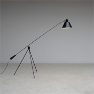 Rare Magneto floor lamp produced by Artifort 1963