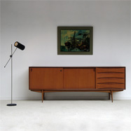 beautiful 60's teak sideboard excellent condition !