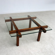 1960s Alfred Hendrickx coffee table for Belform