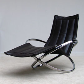 1970 JET STAR rocker-relaxer chair by Roger Lecal
