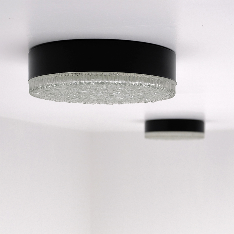 Large Flush Mount Fixtures by Staff 1960s