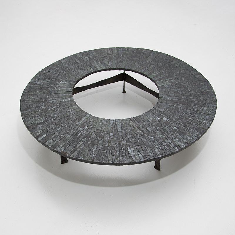 Pia Manu Circular Coffee Table