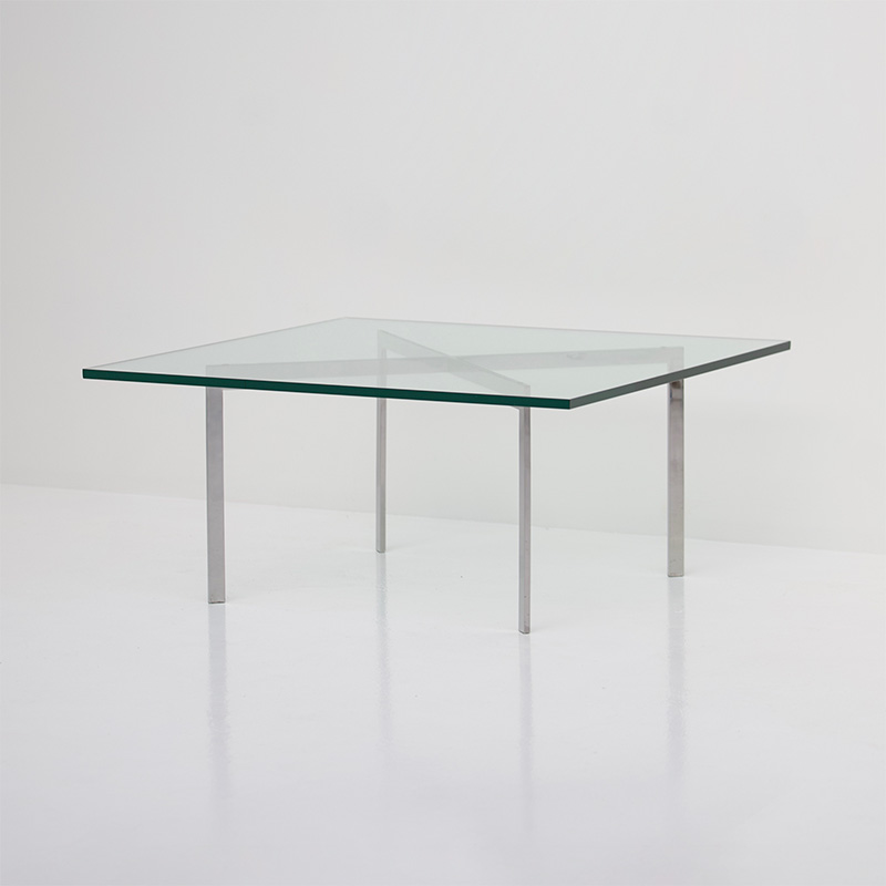 Mies van der Rohe Barcelona Knoll Coffee Table