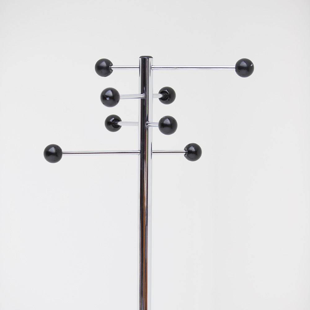 Chrome Coat Stand 1970s
