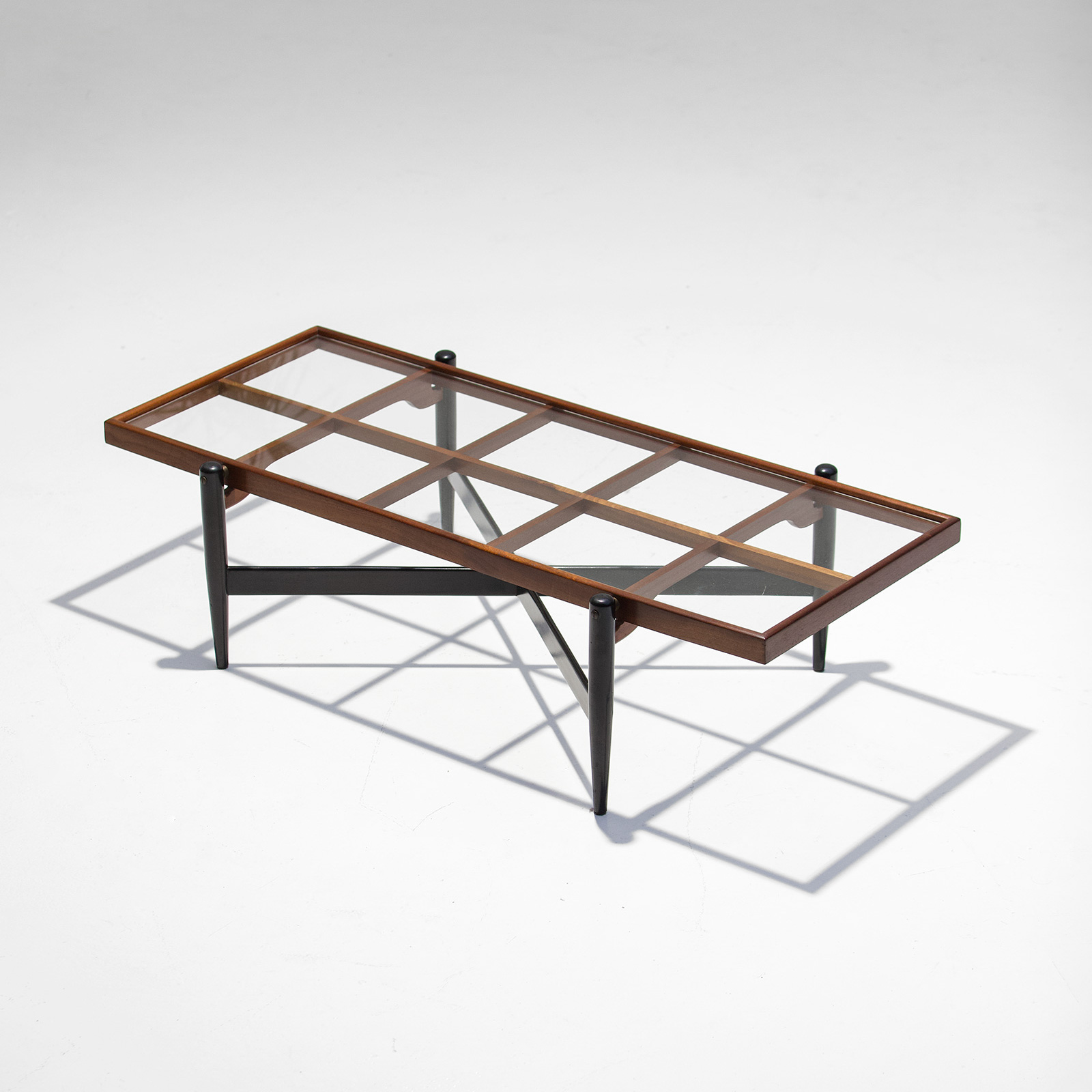 1950s Lattice Construction Coffee Table