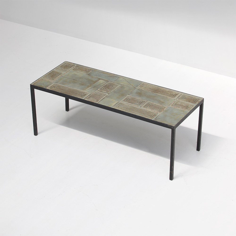 Rare 1950s tiled Ceramic Coffee Table