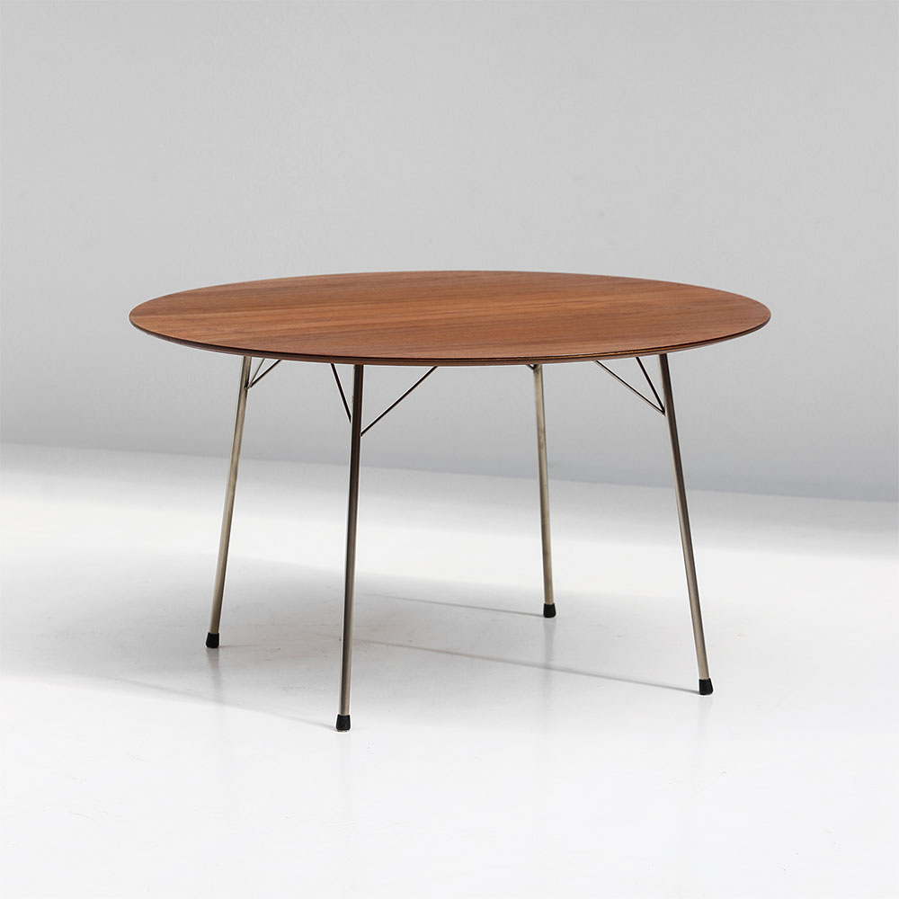 Dining Table By Arne Jacobsen for Fritz Hansen, 1950s