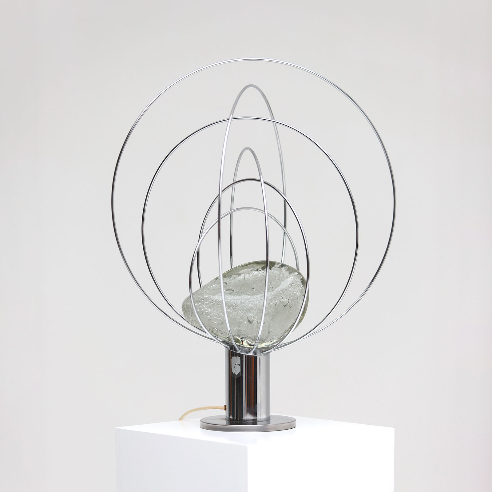 Barnaba  Table Lamp by Angelo Brotto for Esperia