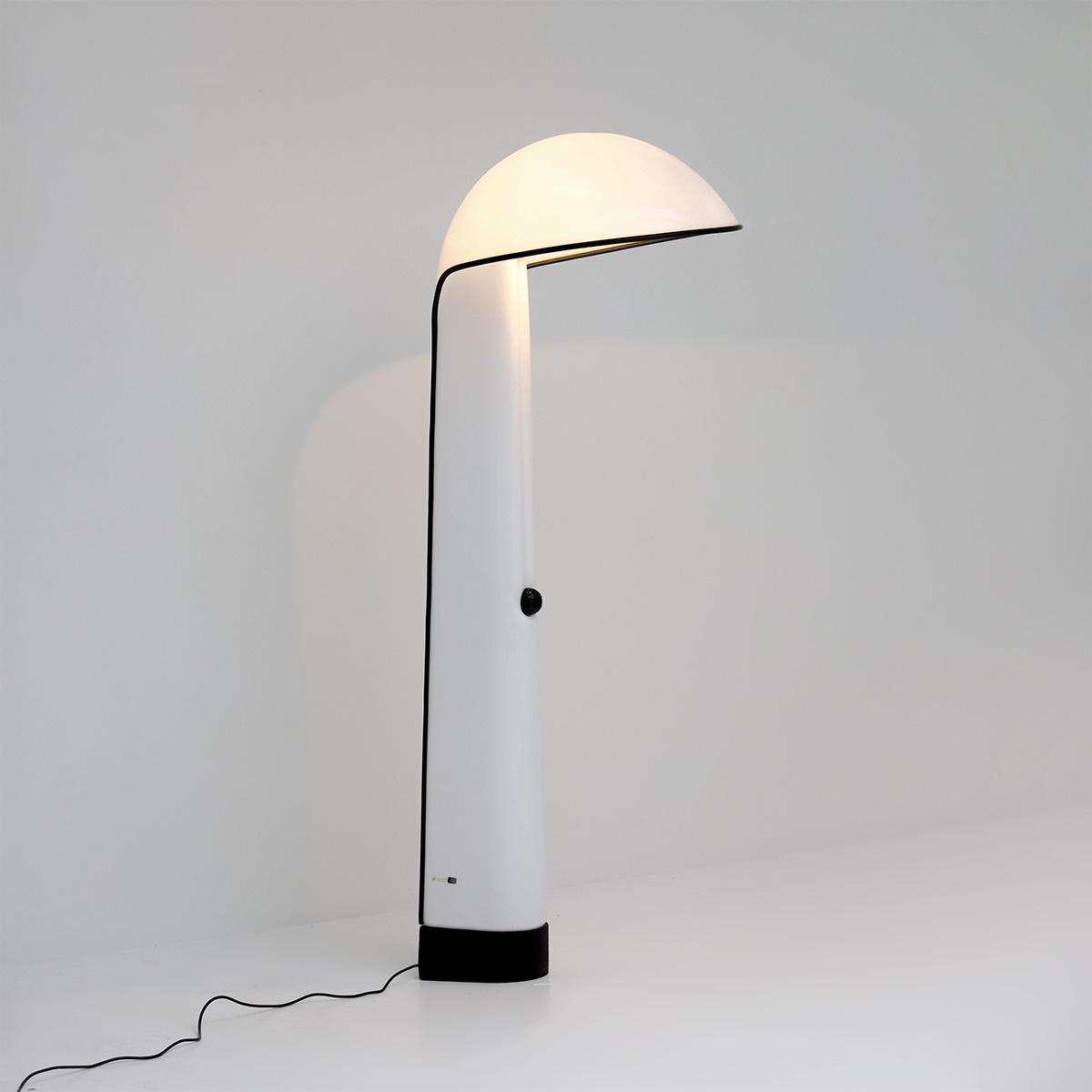Alba floor lamp by Sergio Brazzoli and Ermanno Lampa for Harvey Guzzini 1973