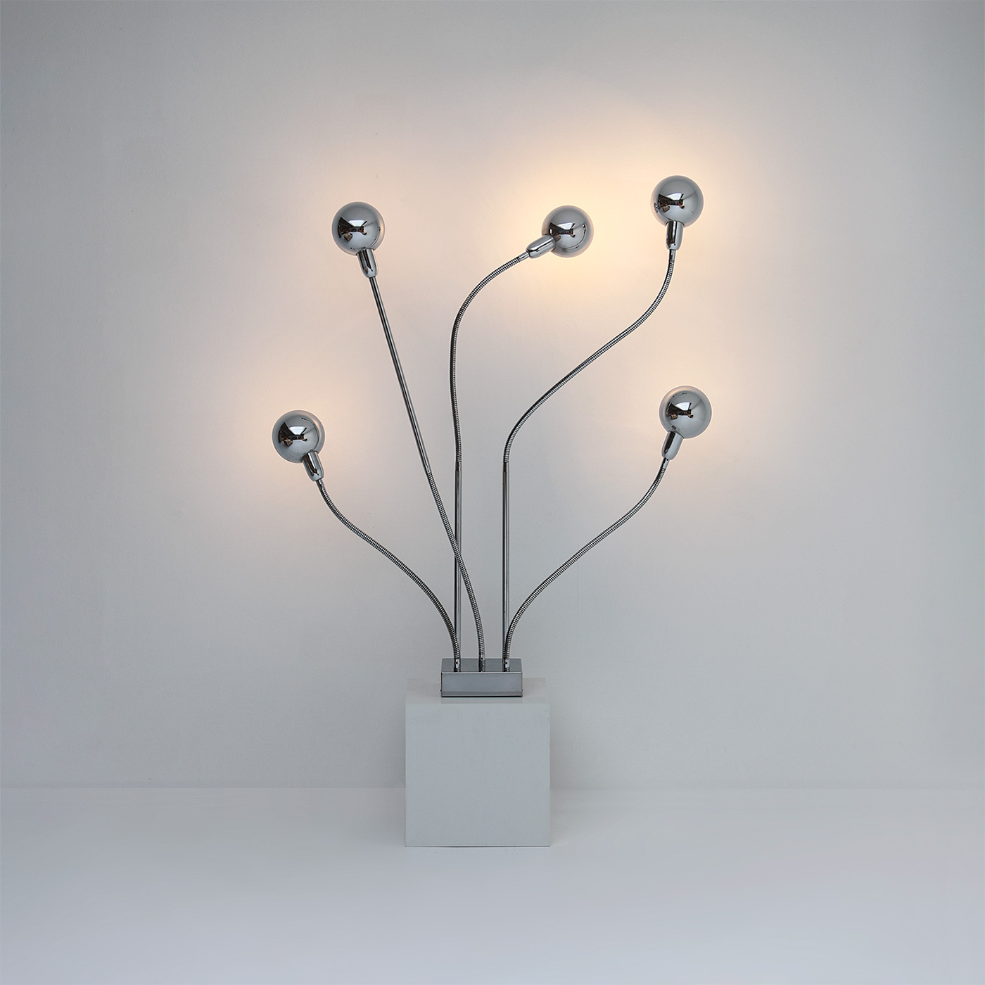 Pierre Folie Hydra floor lamp for Jacques Charpentier