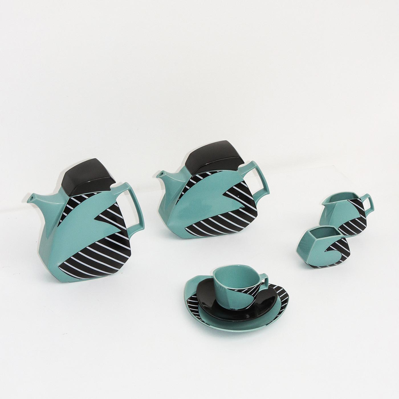 Flash Coffee and tea set by Dorothy Hafner for Rosenthal