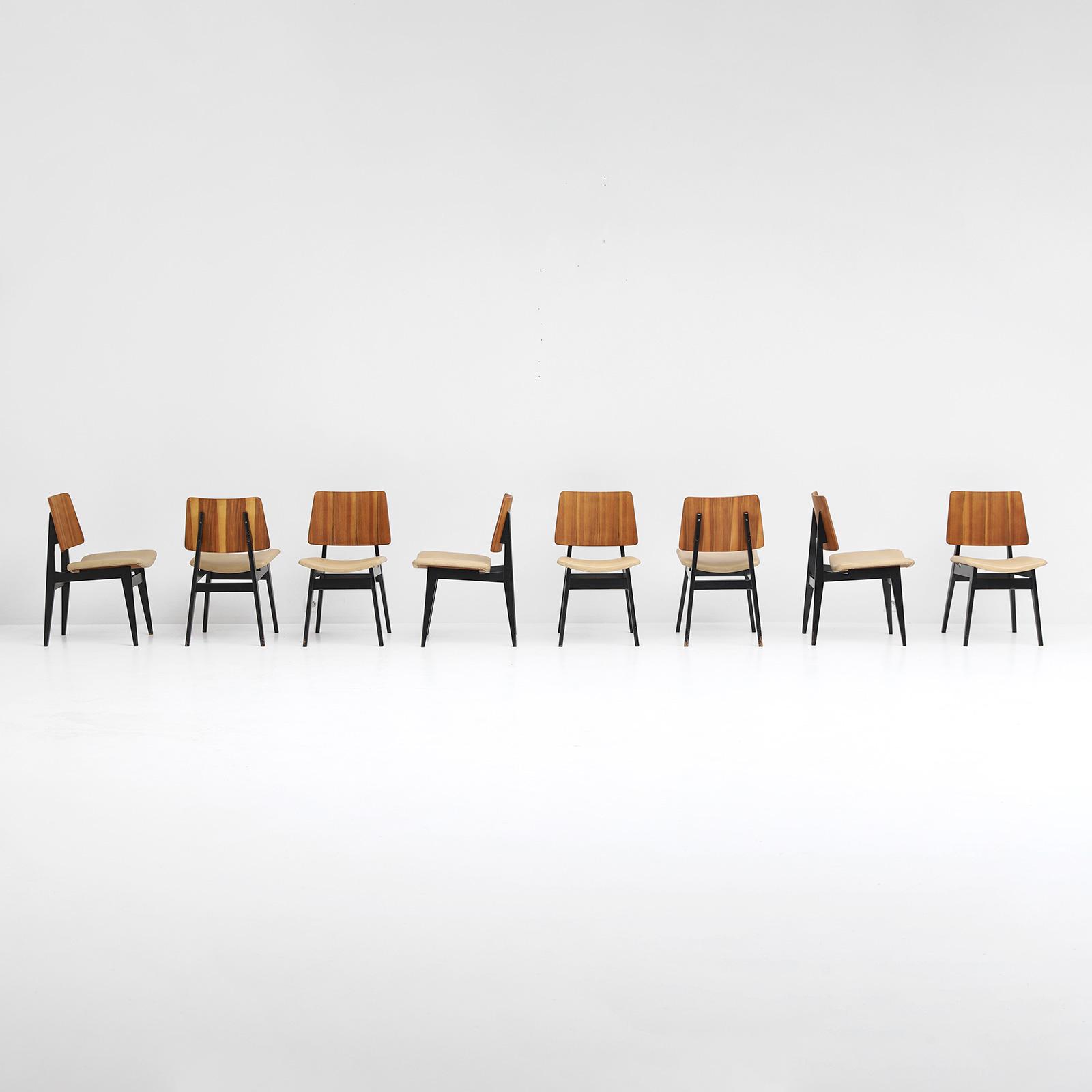 Luxus Jos De Mey Dining Chairs