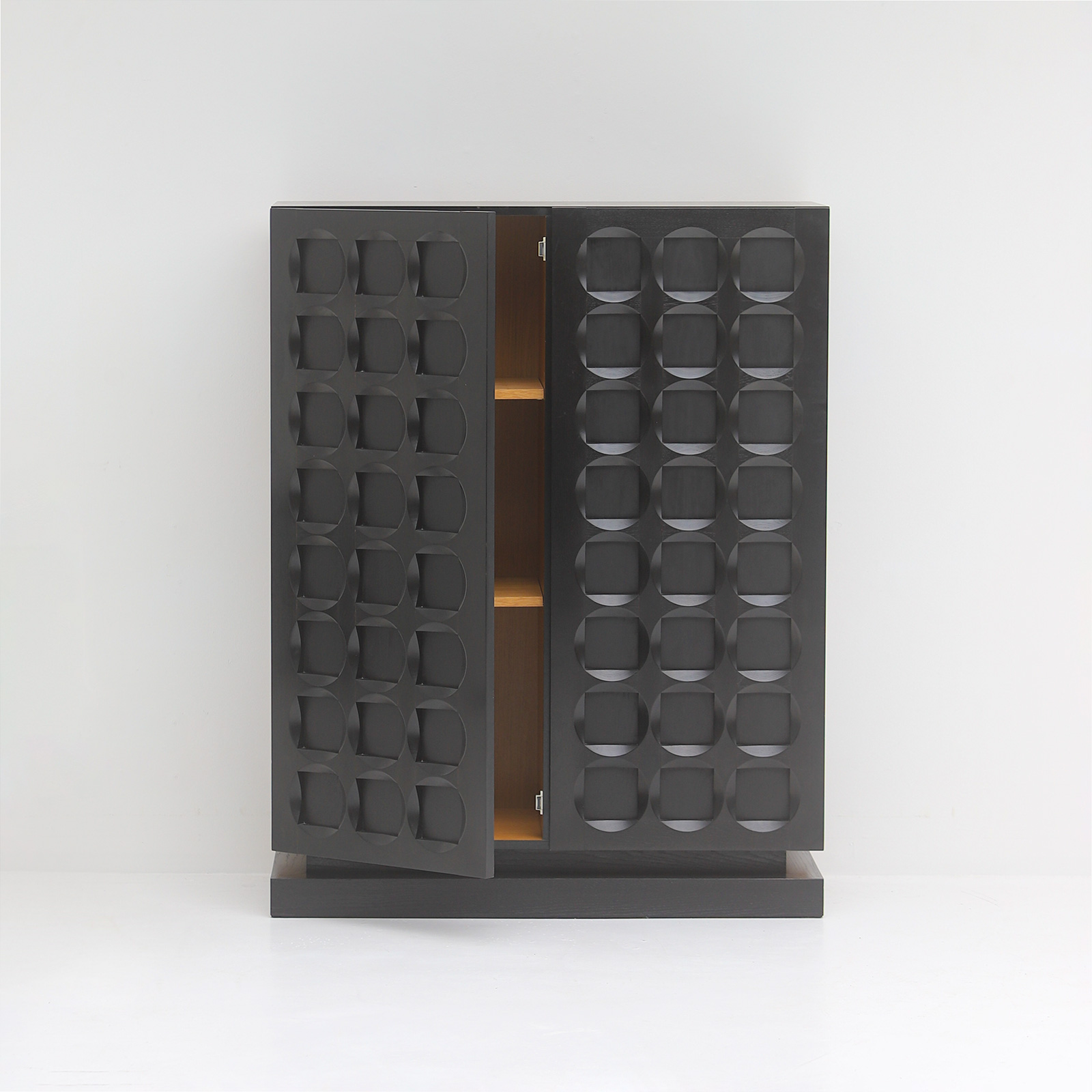 Defour Cabinet with Graphic Doors