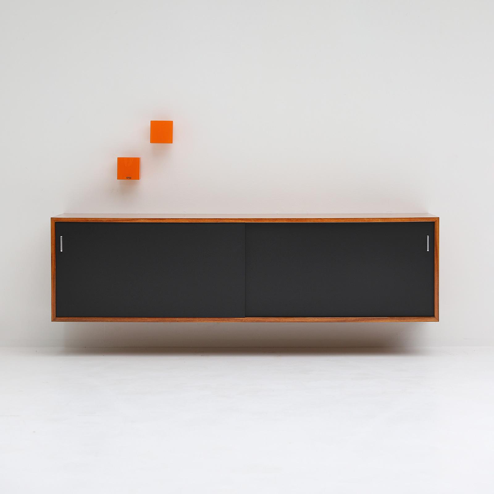 Minimalist floating sideboard