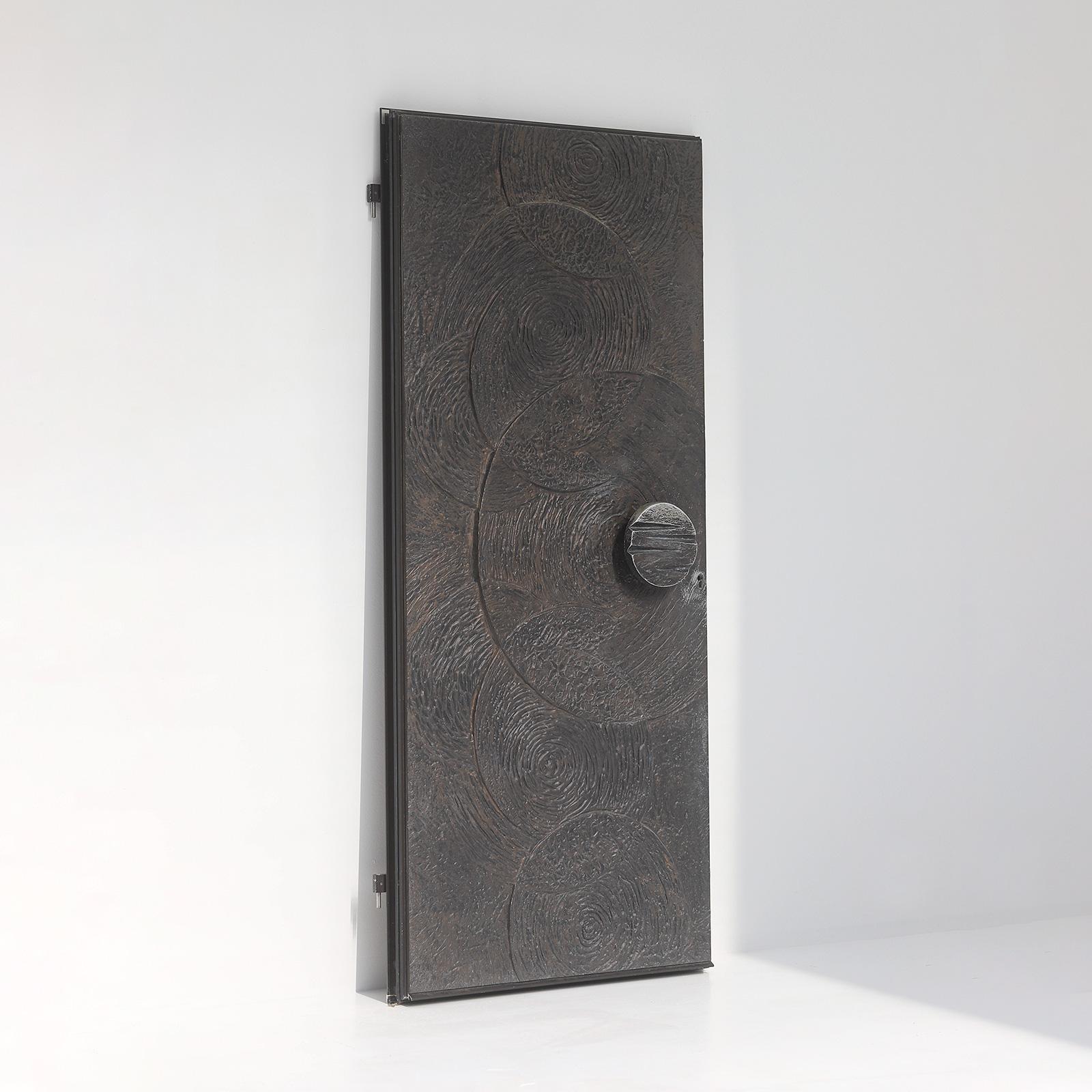 Brutalist Front Door 1970s