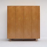 50s Cees Braakman Clothing cabinet