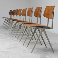 8 Industrial chairs
