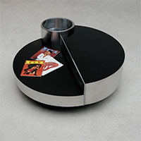 Willy rizzo Deluxe coffee table with cooled mini bar inside
