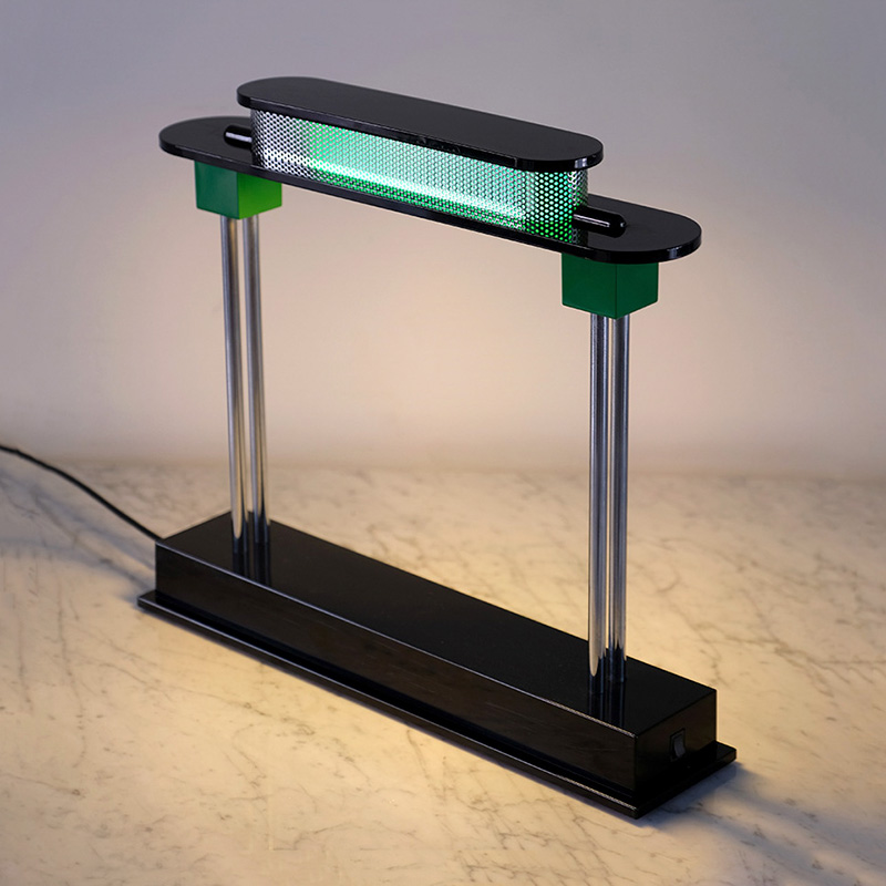 Pausania table lamp by Ettore Sottsass