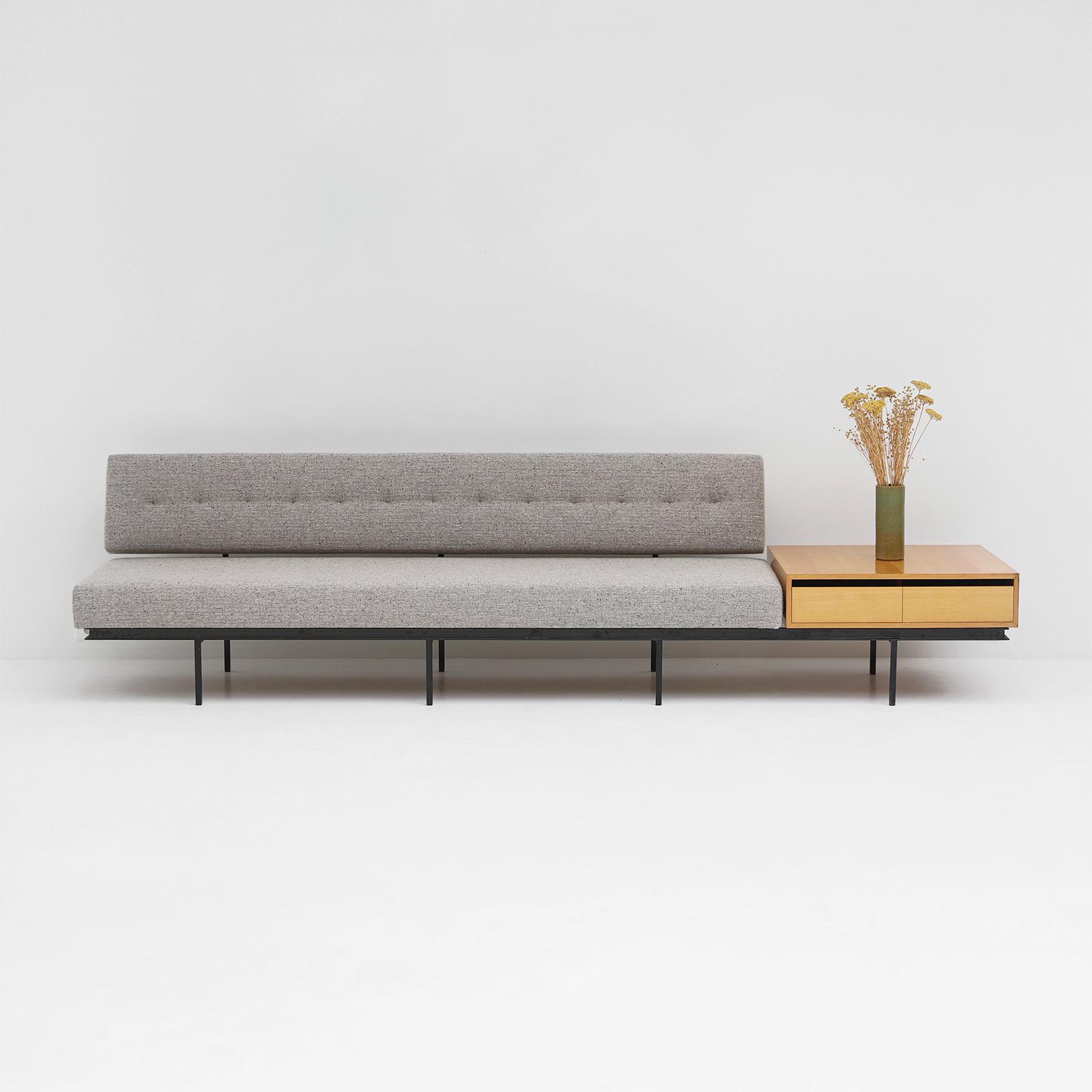 Florence Knoll Sofa & Cabinet