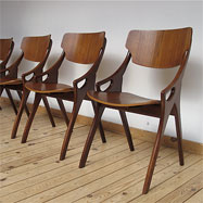4 hovmand olsen chairs / not in production