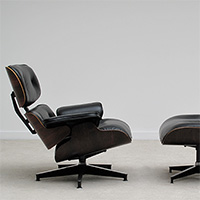 Herman Miller Eames Lounge Chair and Ottoman rosewood