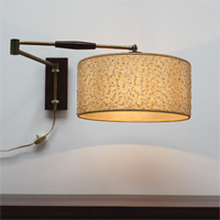 1950s Wall mounted lamp