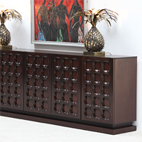 Modern sideboard with graphic doors circa70