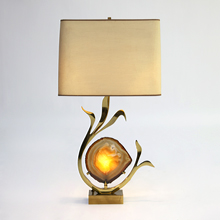 WILLY DARO SIGNED TABLE LAMP
