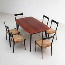 S2 chairs and dining table from Alfred Hendrickx 1958