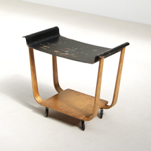 Cees Braackman 50s serving trolley by Pastoe