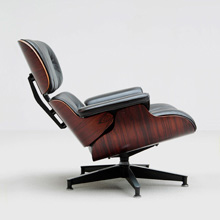 Eames Lounge Chair and Ottoman Herman Miller production