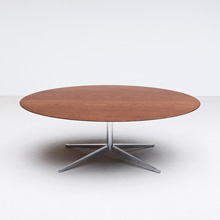 Dining or Conference Table / Chrome Star Base by Florence Knoll
