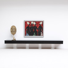 Extra Large black sideboard, build on request