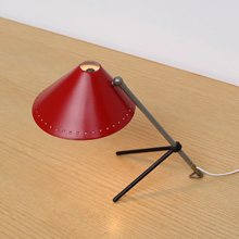 Hala Zeist Pinocchio desk / wall lamp red