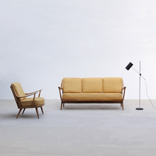 50s cocktail sofa set marked knoll