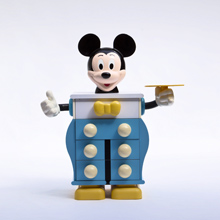 1990s Mickey Mouse Commode Edited by Starform