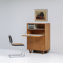 1950's secretaire designed by Cees Braakman for UMS Pastoe.