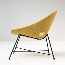 Lounge Chair by Augusto Bozzi for Saporiti 1950s