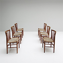 DINNER CHAIRs BY J�RGEN B�KMARK FOR FDB MOBLER
