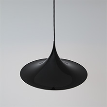 Semi pendant lamp by Bonderup & Torsten for Fog & Morup