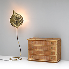 Rattan and Bamboo chest