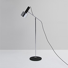Adjustable floor reading lamp 1960s