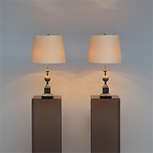 Pair of 1970s French table lamps